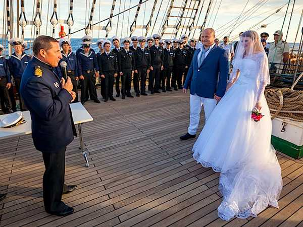 Свадьба на боту