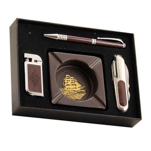 Пепельница ручка и зажигалка
