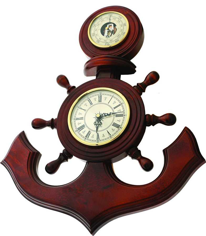 Часы с барометром