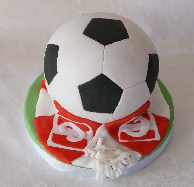 Торт мяч