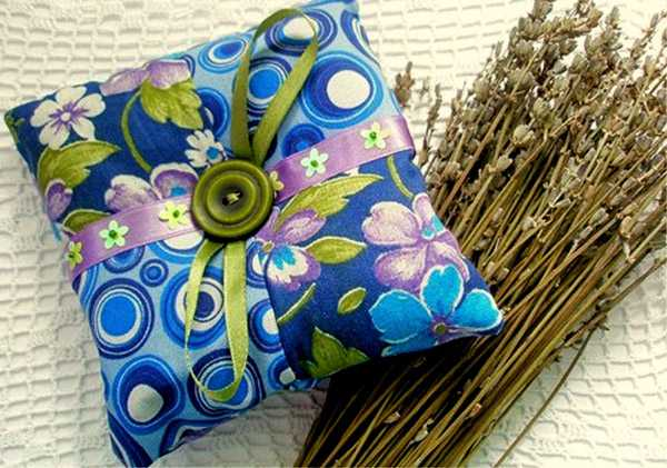 Травяные подушечки