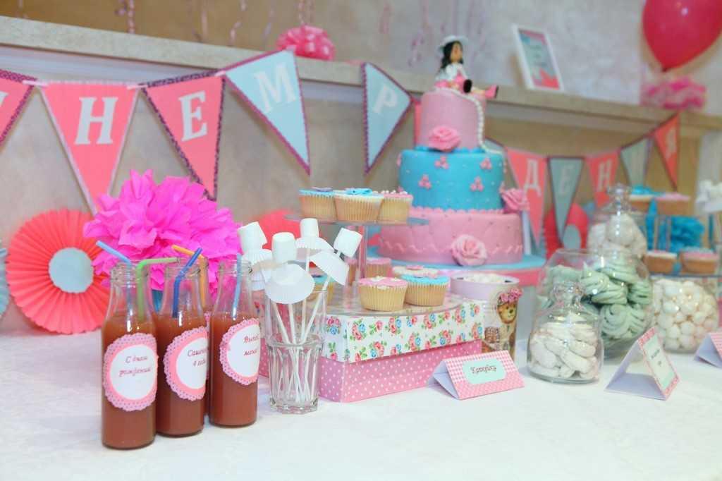Декор стола на День Рождения ребенка