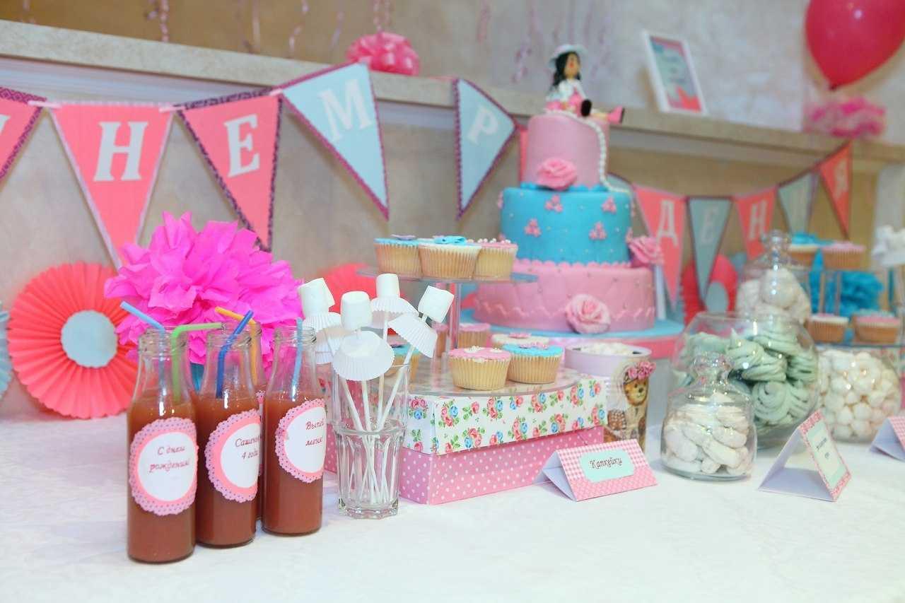 Оформление стола детского дня рождения своими руками фото 246