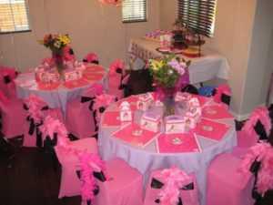 Как украсить стулья на день рождения ребенка?