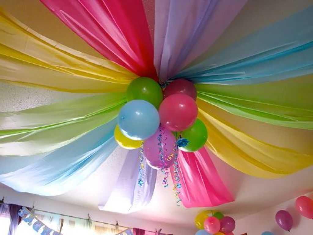 Как украсить комнату на день рождения ребенка: 10 DIY идей 45