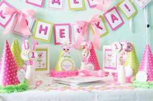 Таблички с именами гостей на День Рождения ребенка