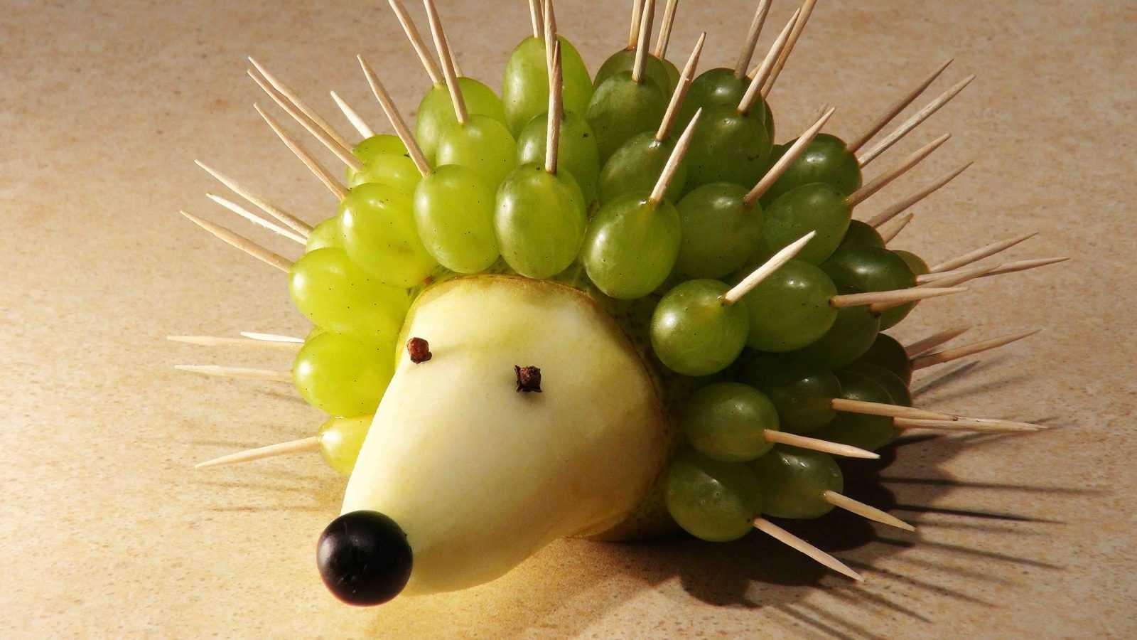 Фото поделок из фрукт
