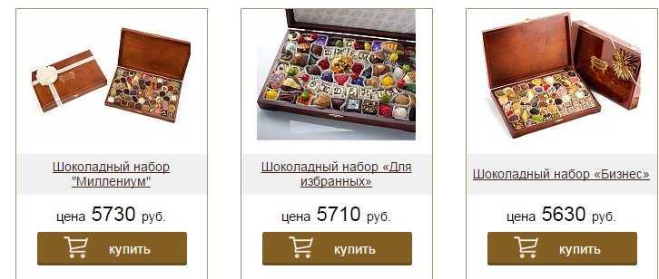 Элитные конфеты