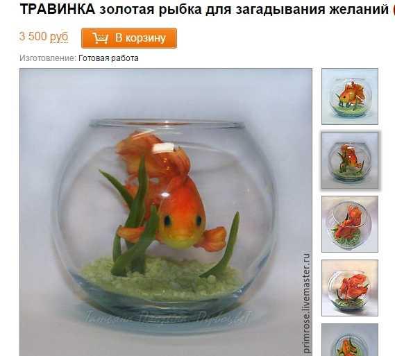 Подарок рыбка к чему это 213