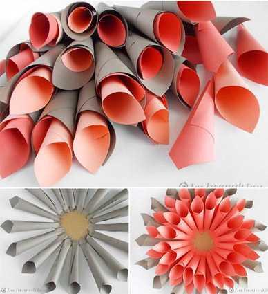 Цветы из бумаги своими руками: легко и быстро 36