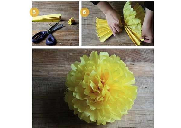 Как сделать бумажные цветы своими руками из гофрированной бумаги 50