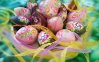 Корзина яиц к Пасхе
