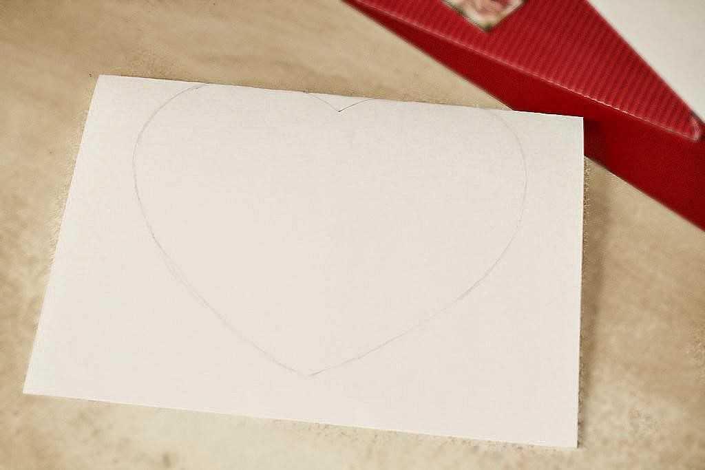 сердце для валентинки
