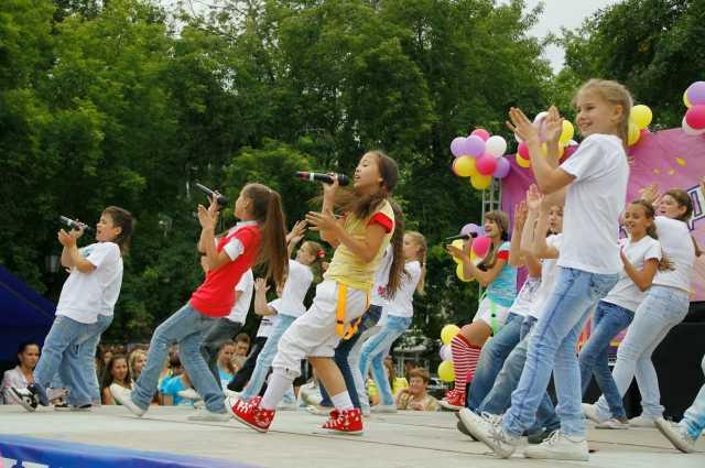 День защиты детей в России