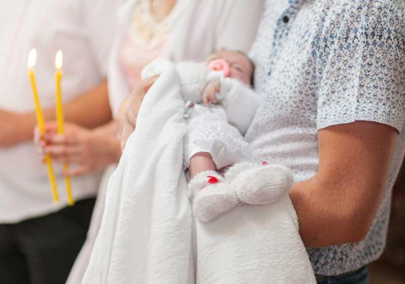 Как отмечают крещение ребенка