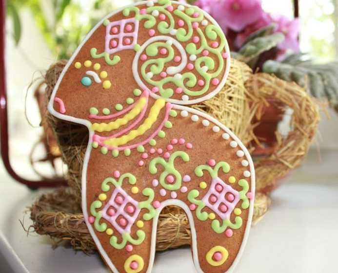 Традиционное печенье с почками вербы на Вербное воскресенье