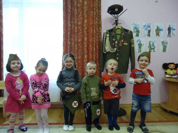 День победы в младшей группе и яслях детского сада - сценарий