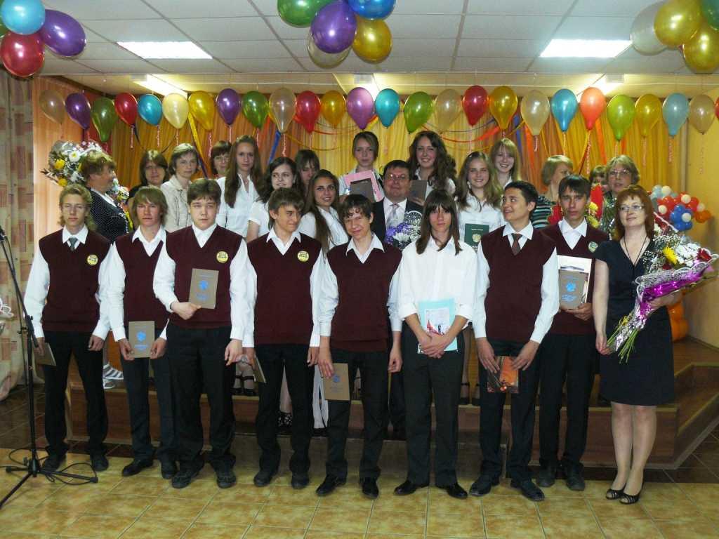 Вручение аттестатов 9 классу - выпускной