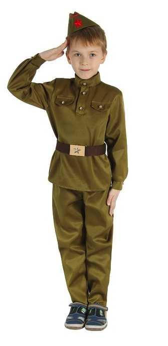 Мальчик солдат
