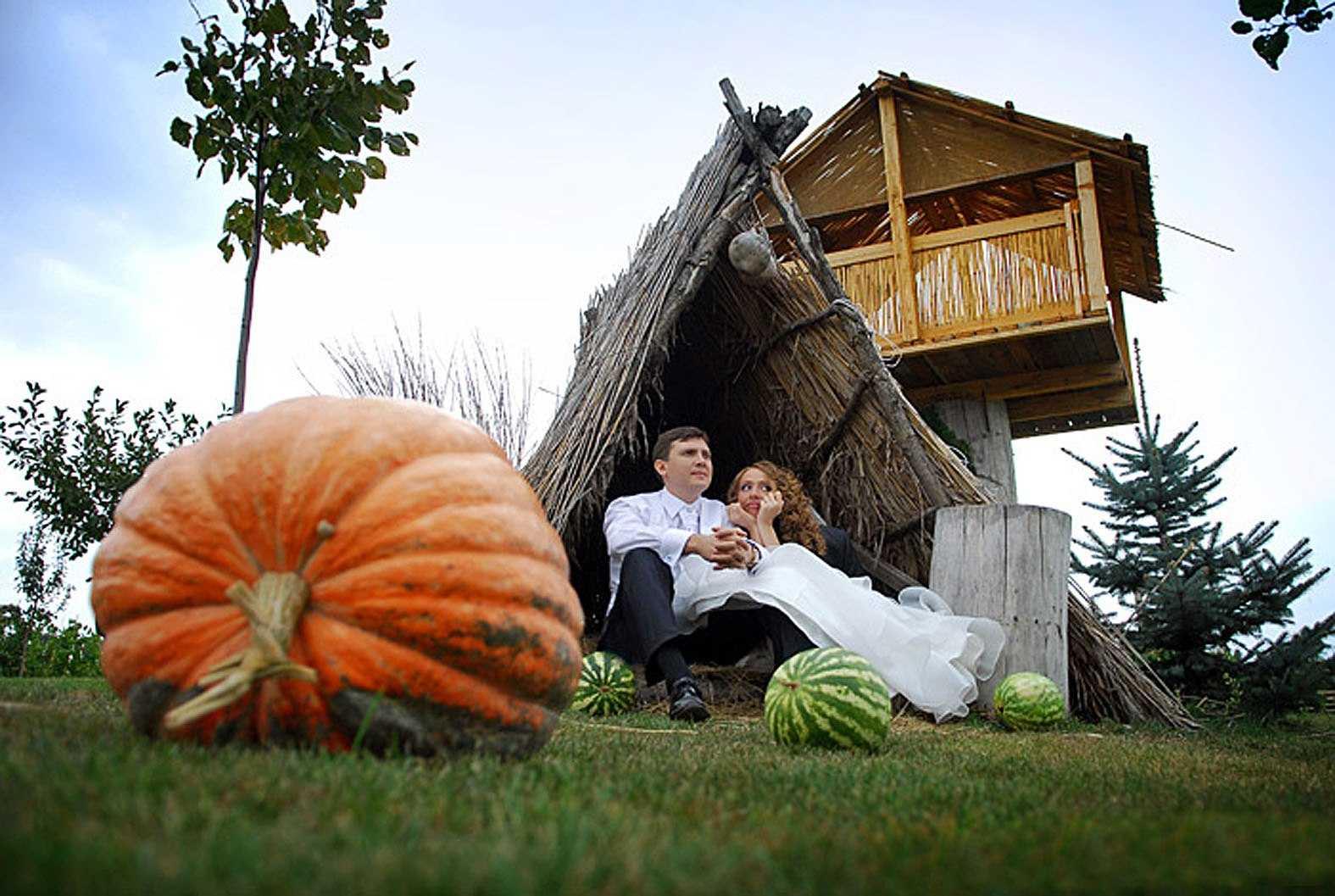 Свадьба в шалаше