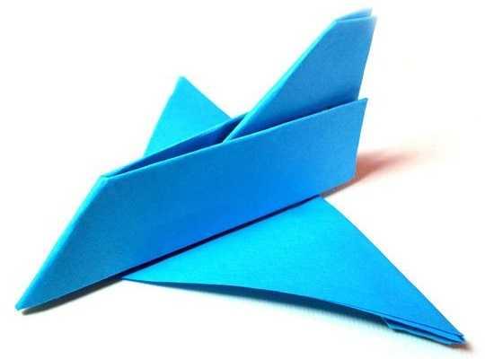 Самолет оригами