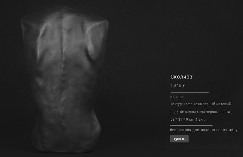 Сумка спина