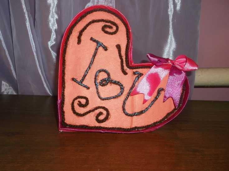 Открытка день святого Валентина 16