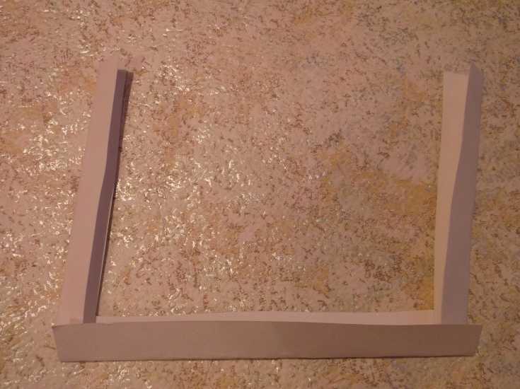 Рамка для фото из капроновой ленты МК 5