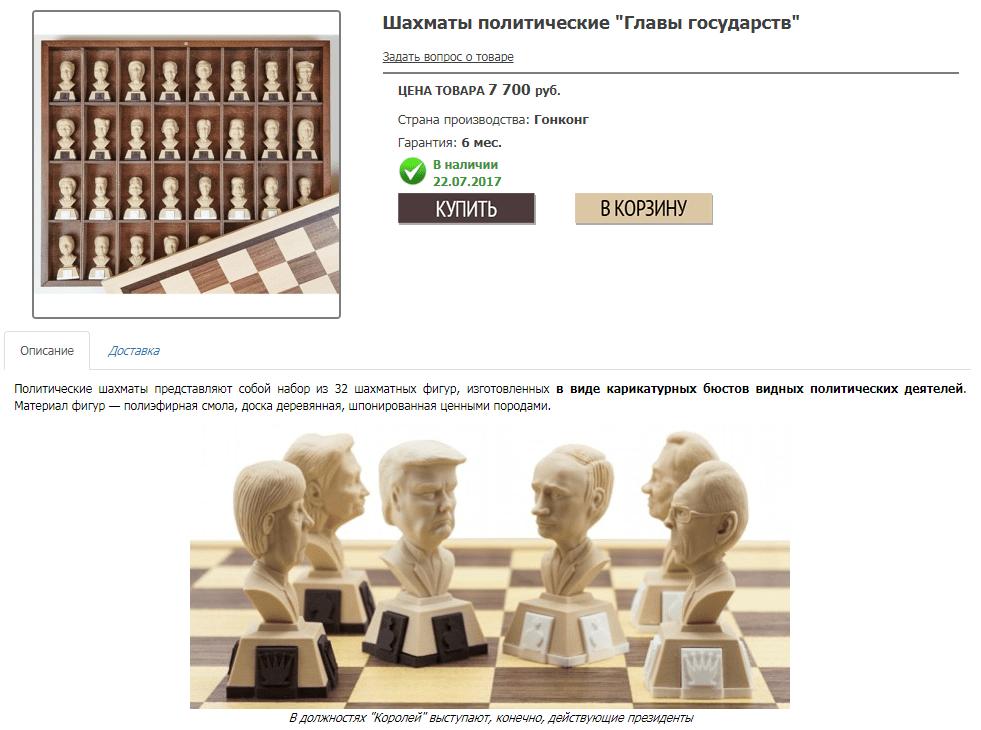 Шахматы политические
