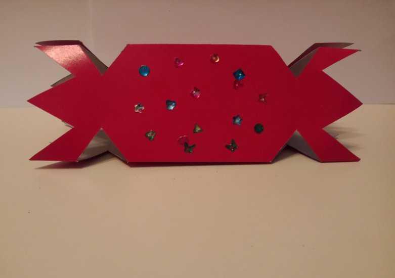 МК Конфеты из картона 10