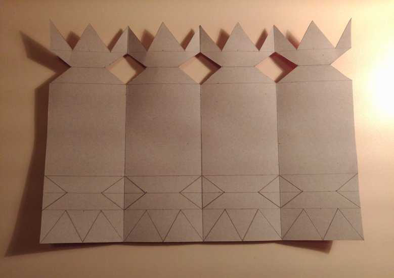 МК Конфеты из картона 4