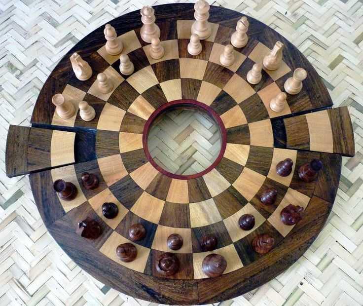 Шахматы на круглых досках