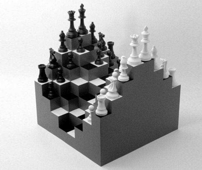 Трёхмерные 3D шахматы