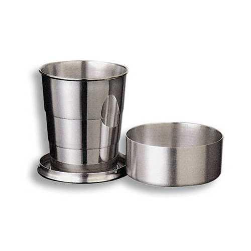 Металлический компактный стакан