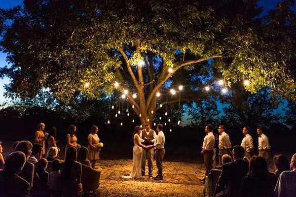 Свадьба на поляне