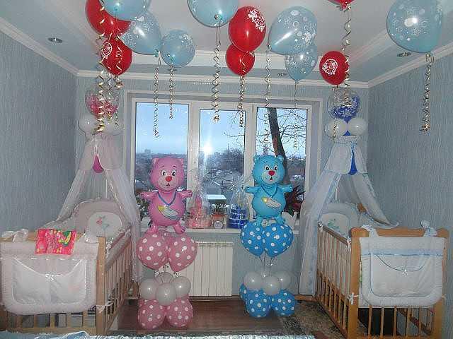 Объемные фигуры из шариков для украшения комнаты