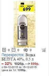 Лучший подарок из России - водка