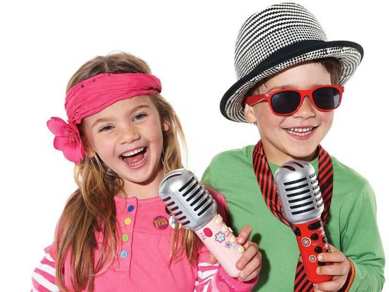 Дети поют