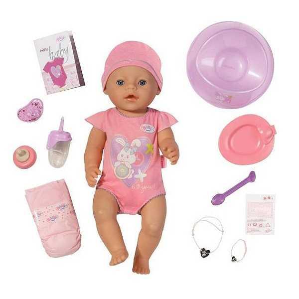 Кукла Zapf Baby born