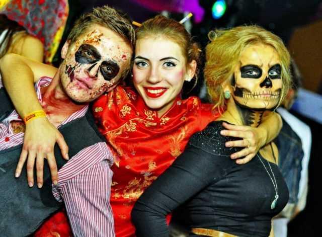 Праздник Хэллоуин в школе