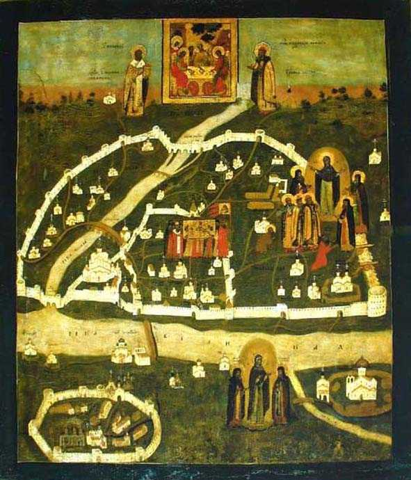 Псково-Покровская икона Божьей матери