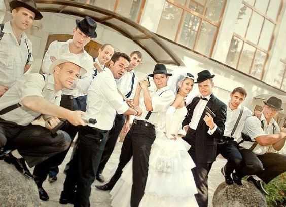 Гангстерская свадьба - сценарий
