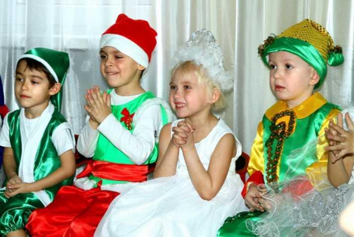 Сценарий новогоднего утренника для средней группы детского сада