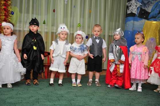 Новый год в младшей группе детсада