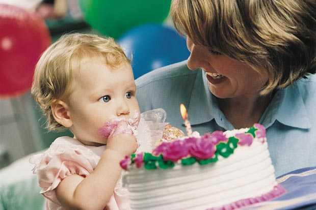 День Рождения девочки 1 год