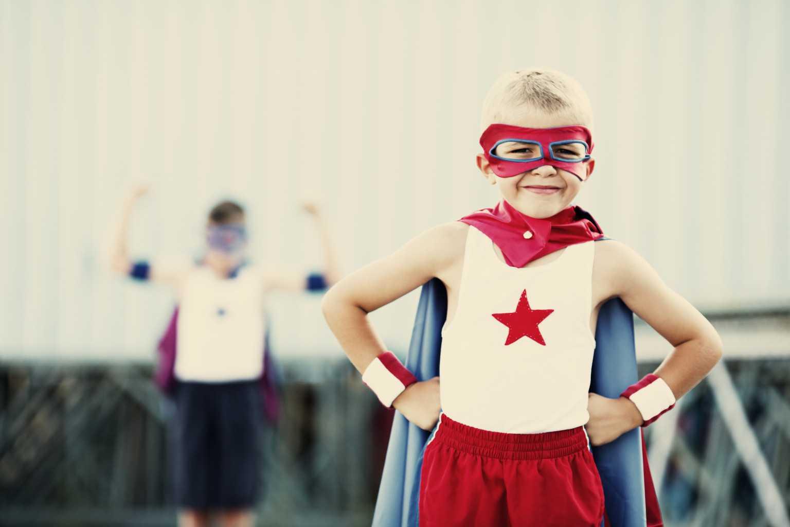Ребенок-супергерой