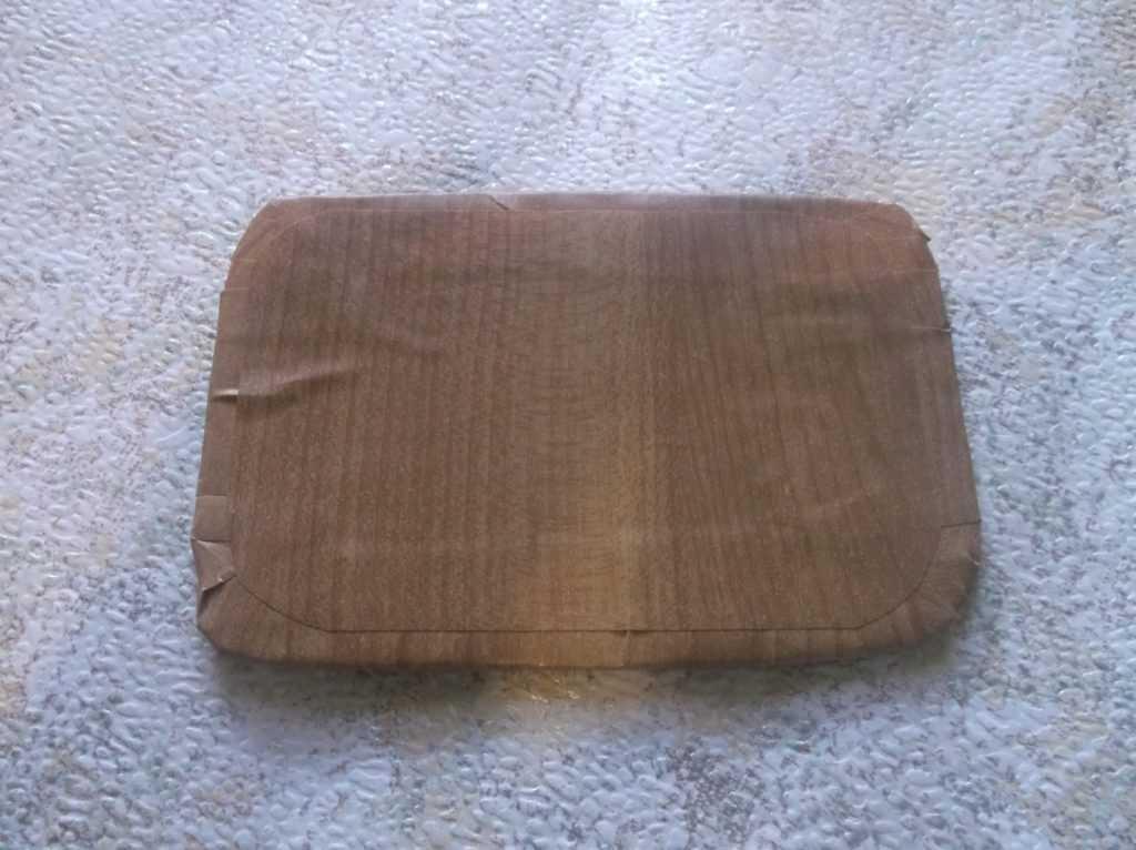 Рамка для фото из шерстяных нитей 12