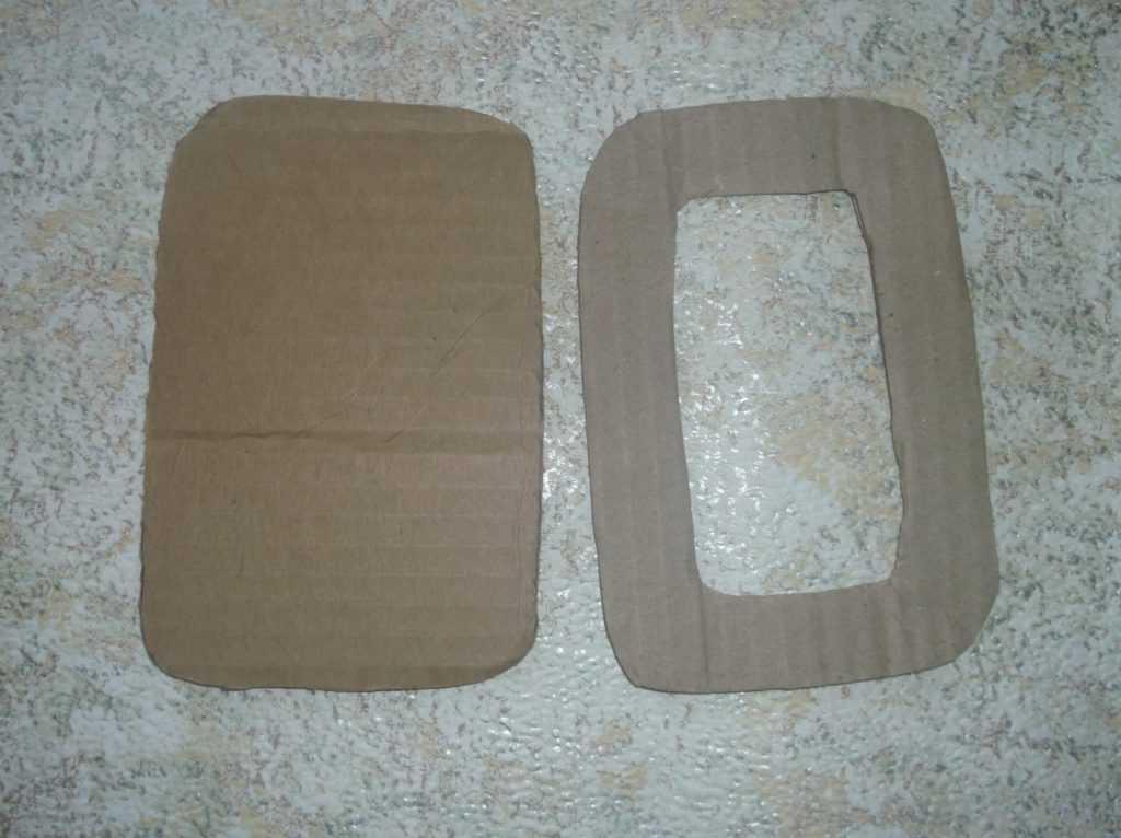 Рамка для фото из шерстяных нитей 2