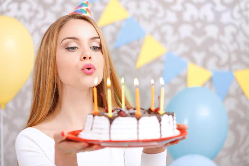 День рождения дочери