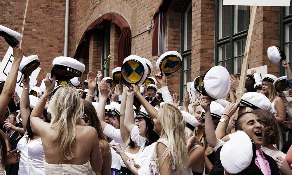 Выпускной в Швеции